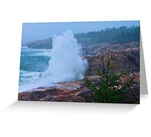 Big Splash Cape Breton Greeting Card