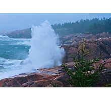 Big Splash Cape Breton Photographic Print