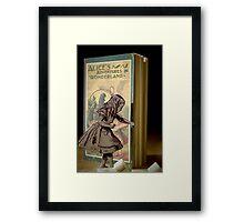 Alice in Wonderland. Framed Print