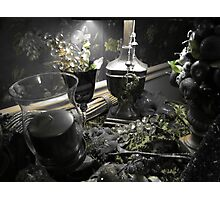 Colorized Table Photographic Print