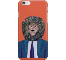 Mr. Lion's portrait iPhone Case/Skin