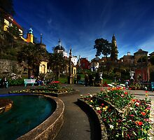 Portmeirion on a Spring day by Owen Burke