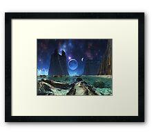 Silent Satellite  Framed Print