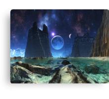 Silent Satellite  Canvas Print