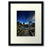 Centre of Portmeirion on a Spring day Framed Print