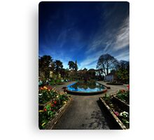 Centre of Portmeirion on a Spring day Canvas Print