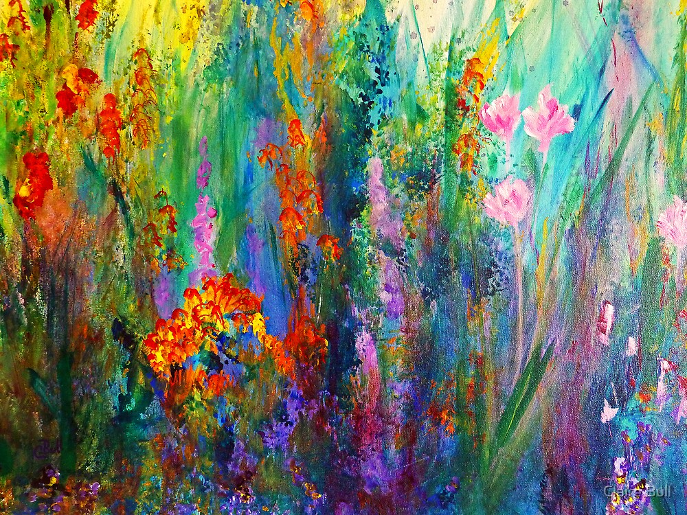 Meadow Flowers by ClaireBull