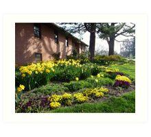 Spring comes to Greenbelt 3 Art Print