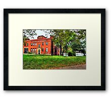 Cleveland, Ohio Fire Department Framed Print