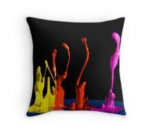 Ascending Order - Liquid Sculpture Throw Pillow