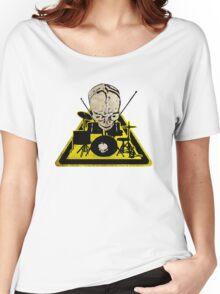Dangerous drummer 2 Women's Relaxed Fit T-Shirt