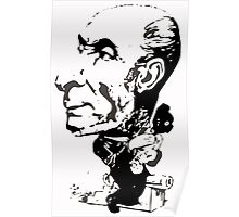 André Gill Schoelcher caricature Poster
