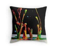 Twist - Liquid Sculpture Throw Pillow