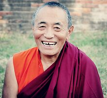 Venerable Khenchen Palden Sherab Rinpoche  by dcphotos