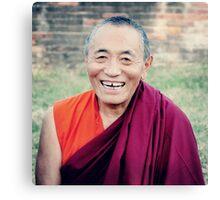 Venerable Khenchen Palden Sherab Rinpoche  Canvas Print
