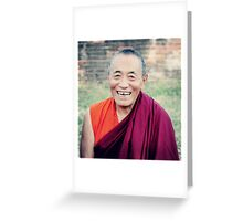 Venerable Khenchen Palden Sherab Rinpoche  Greeting Card