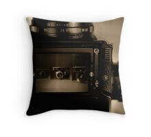 Tabletop of Broken Dreams Throw Pillow