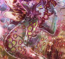psychedelic earth faerie by SaradaBoru