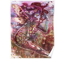 psychedelic earth faerie Poster