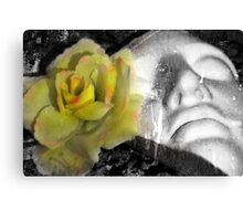 Flowers For The Lost Canvas Print