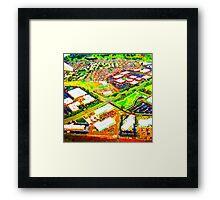 Blocks of Colour Framed Print