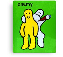 Enemy Canvas Print