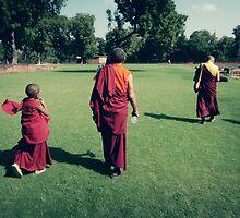 Pema, Venerable Khenchen Palden Sherab Rinpoche and Venerable Khenpo Tsewang Dongyal Rinpoche by dcphotos