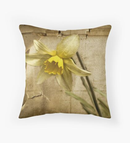 Spring is Fading Throw Pillow