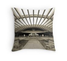 The Station of Light Throw Pillow