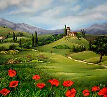 Tuscan Landscape by sunitha84