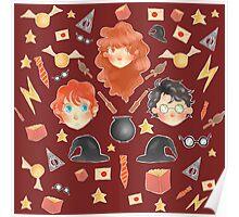 Harry Potter World Poster