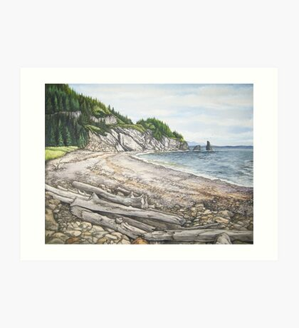 Cape Breton Seascape Art Print