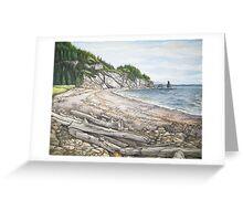Cape Breton Seascape Greeting Card