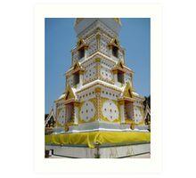 Stupa Base Art Print