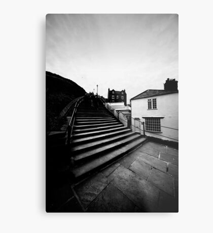 Whitby Steps Metal Print