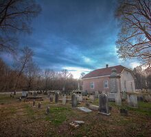 Old Welsh Tract Church - Newark Delaware by M.Reder Photography