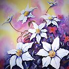 White Clematis by Lynn Norris