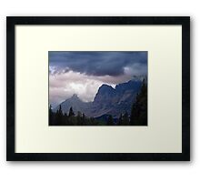 Ramparts- Mt. Fitzwilliam Framed Print