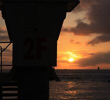 Baywatch Tower Hawaii by daffymjb