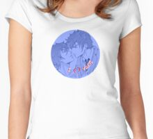 bishonen kissing 3 Women's Fitted Scoop T-Shirt