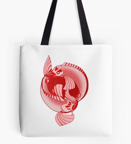 Rising Sun Print Tote Bag