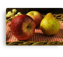 Fruits Basket Canvas Print