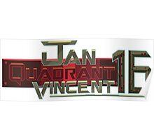 Jan Quadrant Vincent 16 Poster