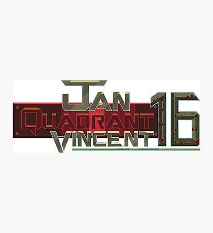 Jan Quadrant Vincent 16 Photographic Print