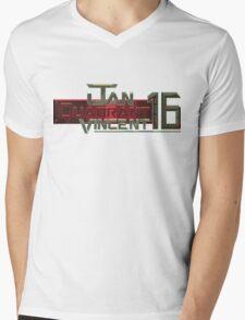 Jan Quadrant Vincent 16 Mens V-Neck T-Shirt