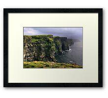 cliffs.. Framed Print