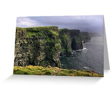cliffs.. Greeting Card