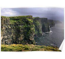 cliffs.. Poster