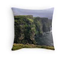 cliffs.. Throw Pillow