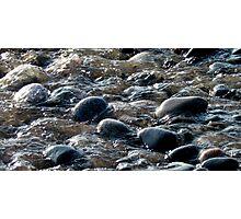 Flinging Sand - Lake Superior Style - Marathon Ontario Canada Photographic Print